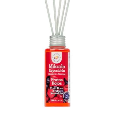 Αρωματικό χώρου με sticks Κόκκινα φρούτα - 100ml