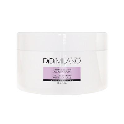 DiDi Milano Κρέμα Κυτταρίτιδας με Algaei Fucus/Φύκια - 500ml